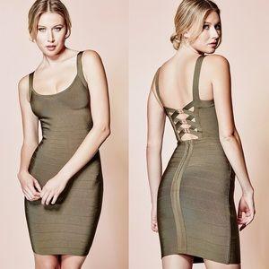 Marciano Vasti Bandage Dress